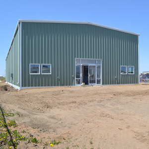 Commercial Steel Building Pedestrain Doors and Windows