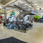 Agri Equipment Steel Building Interior