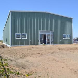 Commercial Steel Building Pedestrain Doors and Windows