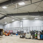 Oil Recycling Steel Building Interior